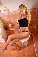 Bathroom Teen Waiting For You - Picture 3