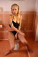 Bathroom Teen Waiting For You - Picture 4
